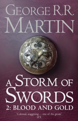 Book cover for A storm of swords. 2, Blood and gold