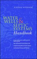 Water wells and septic systems handbook