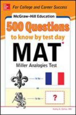 500 MAT questions to know by test day