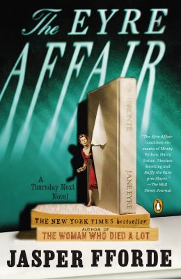 The Eyre Affair by Jasper Fforde book cover