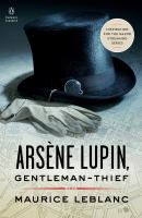 Arsène Lupin, gentleman-thief