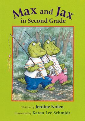 Max and Jax in second grade