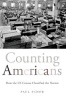 Counting Americans : by Schor, Paul,