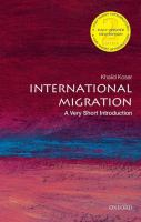 International migration : a very short introduction