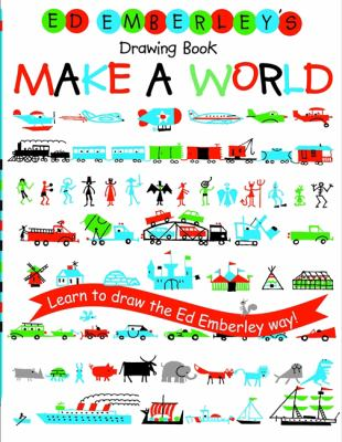 Ed Emberley's drawing book : make a world.