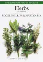 The Random House Book of Herbs for Cooking