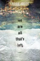 We are all that's left