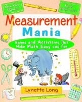 Measurement Mania