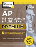 Cracking the AP U.S. government & politics exam. Premium