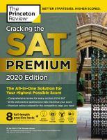 Cracking the SAT. Premium