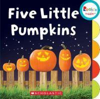 Five little pumpkins.