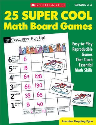 25 super cool math board games :