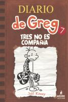 Diario de Greg : tres no es compañía