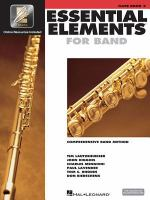 Essential elements for band : comprehensive band method. Flute. Book 2.