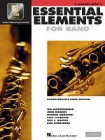 Essential elements for band : comprehensive band method. B clarinet. Book 2