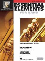 Essential elements for band : comprehensive band method Btrumpet. Book 2