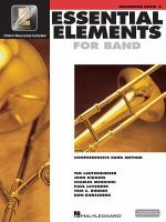 Essential elements for band : comprehensive band method. Trombone. Book 2