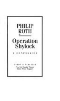 Operation Shylock : a confession