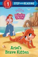 Ariel's brave kitten