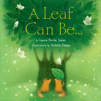 A leaf can be--