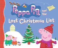 Peppa Pig and the lost Christmas list.