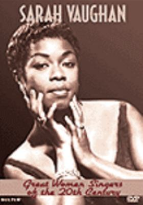Great women singers of the 20th century. Sarah Vaughan