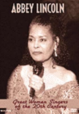 Great women singers of the 20th century. Abbey Lincoln