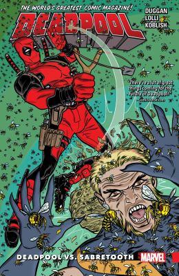 Deadpool : world's greatest. 3, Deadpool vs. Sabretooth