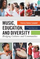 Music, education, and diversity : bridging cultures and communities