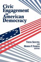 Civic engagement in American democracy by