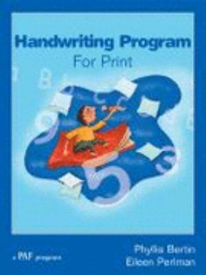 Handwriting program for print