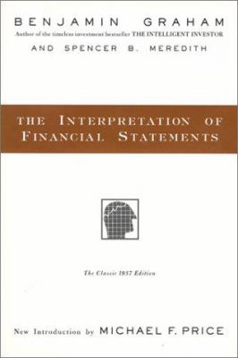 The interpretation of financial statements : the classic 1937 edition