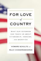 For love of country : by Schultz, Howard,