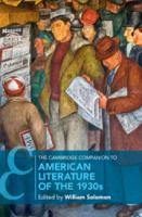 The Cambridge companion to American literature of the 1930s