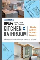 Kitchen & bathroom planning guidelines with access standards