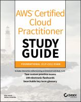 AWS Certified Cloud Practitioner study guide : CLF-C01 exam