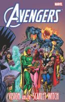 Avengers Vision and the Scarlet Witch.