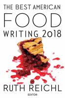 Best American Food Writing 2018