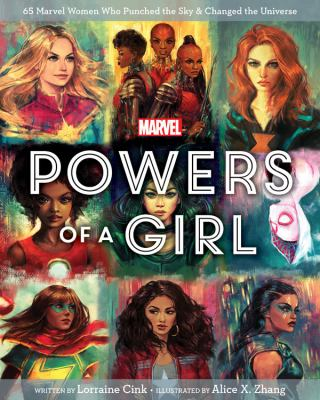 Powers of a girl : by Cink, Lorraine,