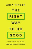 The Right Way to Do Good