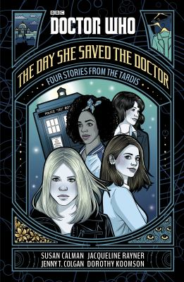 Book cover for The day she saved the Doctor