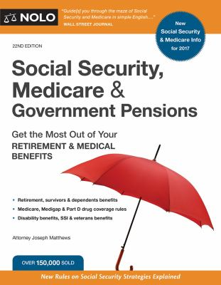 Social Security, Medicare & government pensions :