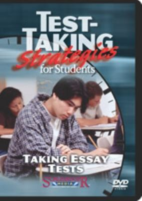 Test-taking strategies for students: Taking essay tests