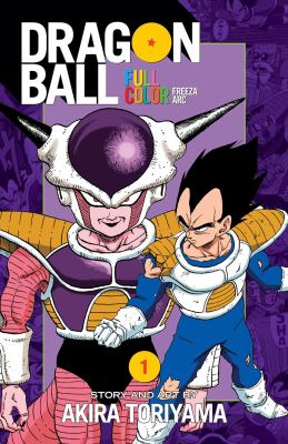 Dragon ball full color.  Volume 1 Freeza arc,
