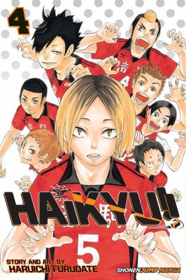Haikyu!!  Volume 4, Rivals!