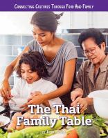 The Thai family table by Poole, Hilary W.,