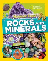 Absolute expert. Rocks and minerals