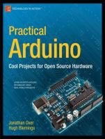 Practical Arduino : cool projects for open source hardware