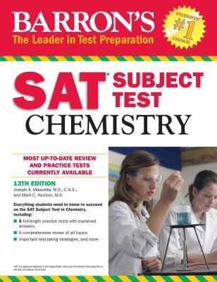 Barron's SAT subject test.   Chemistry