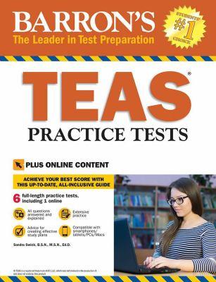 Barron's TEAS practice tests by Swick, Sandra,